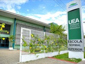 Escola Normal Superior, da UEA (Foto: Divulgação/UEA)