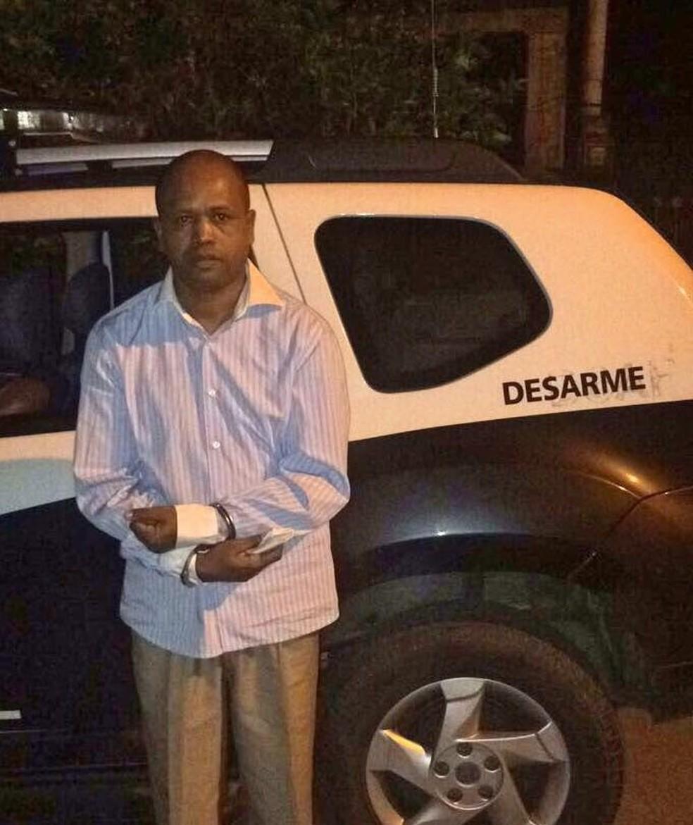 Segundo a Polícia, traficante disse ser pastor de uma igreja evangélica antes de ser preso (Foto: Divulgação)