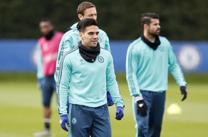 Falcao Garcia Chelsea (Foto: Reuters)