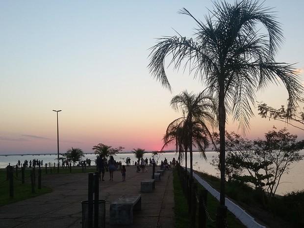 Prefeitura visa estimular ainda mais o turismo de Presidente Epitácio (Foto: Stephanie Fonseca/G1)