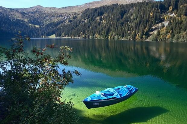 Lago Königssee, na Alemanha (Foto: Reprodução)
