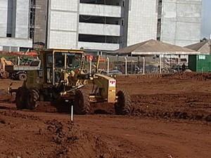 Obras devem ficar prontas em 40 dias (Foto: Reprodução/TV Integração)