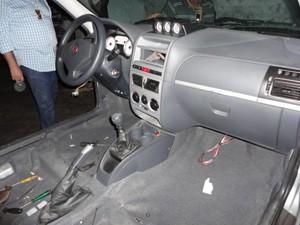 Carros podem ser totalmente desmanchados em até 10 minutos, diz delegado (Foto: Divulgação/Polícia Civil)