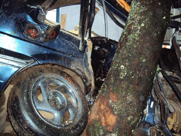 Segundo a Polícia Rodoviária Federal, acidente pode ter sido causado por chuva (Foto: Divulgação/PRF)