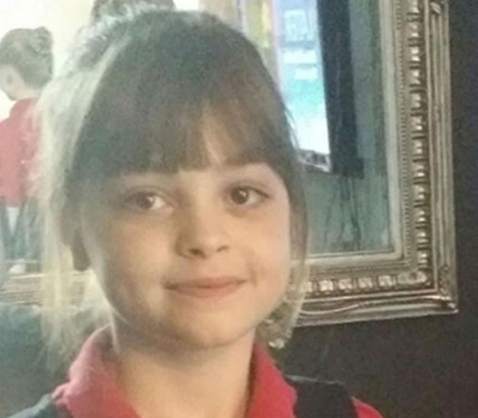 Saffie Rose Roussos, de 8 anos, morreu em ataque após show da cantora americana Ariana Grande, em Manchester, no Reino Unido (Foto: Associated Press)