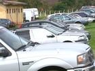 Receita de Araraquara fica lotada com cerca de 430 veículos apreendidos