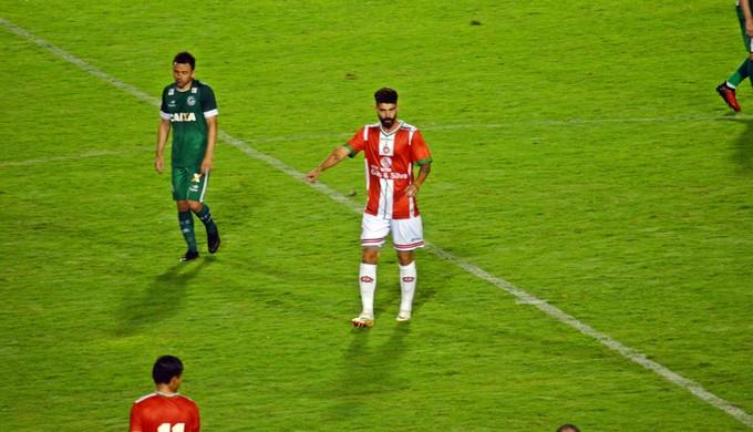Radamés estreou na temporada contra o Goiás e pode ser opção contra o Uberaba (Foto: Régis Melo)