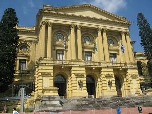 Museu Paulista, no Ipiranga, é primeira parada do trajeto  (Foto: Leonardo Neiva/G1)