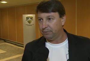 Edu Pascoski, secretária do Luverdense (Foto: Reprodução / SporTV)