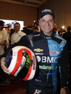 Barrichello na Indy (Foto: AFP)
