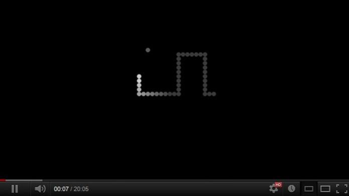 Snake também está presente no Youtube (Foto: Reprodução/ Elusa Costa)