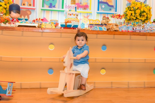 Gabriel, filho de Fernanda Gentil (Foto: Rebeca Penna Firme / Divulgação)