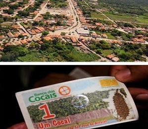 Localizada a 250 de Teresina, São João do Arraial movimenta a economia com a moeda social, Cocal  (Foto: Divulgação)