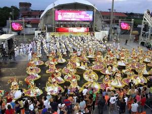 Escola detêm 25 títulos no carnaval amapaense (Foto: Divulgação Boêmios do Laguinho)