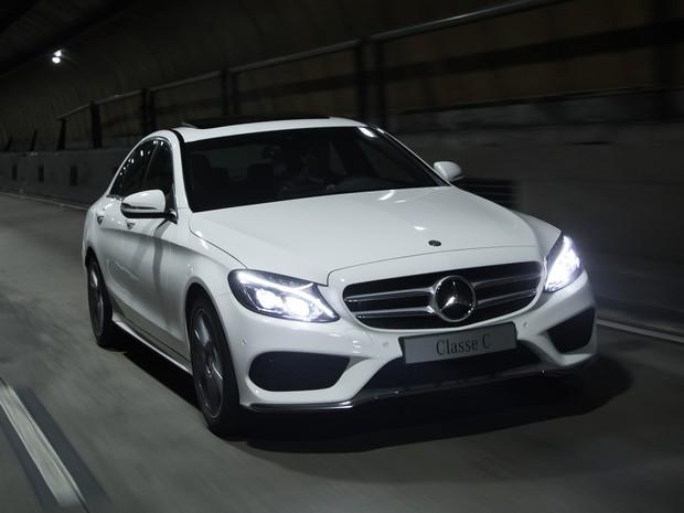 Novo Mercedes Classe C (Foto: Divulgação)