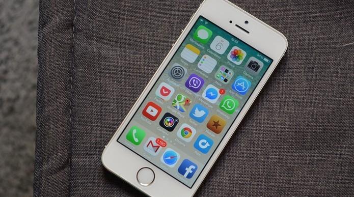 iPhone 5S foi apresentado pela Apple em 2013 (Foto:Luciana Maline/TechTudo)