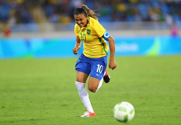 Marta Brasil x China (Foto: Reuters)