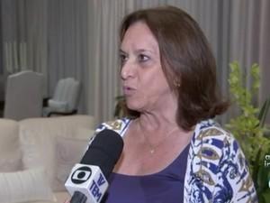 Maria José Gonzaga, do PSDB, é eleita prefeita de Tatuí (Foto: Reprodução/TVTEM)