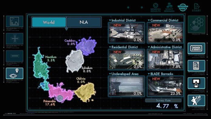 Xenoblade Chronicles X é dividido em cinco continentes (Foto: Reprodução/Victor Teixeira)