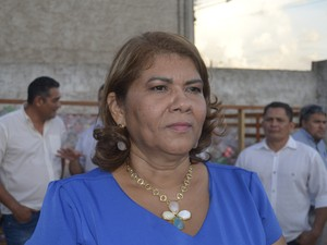 Assessora Ornamental de Santana, Maria José Almeida (Foto: Johnwene Silva/ G1)