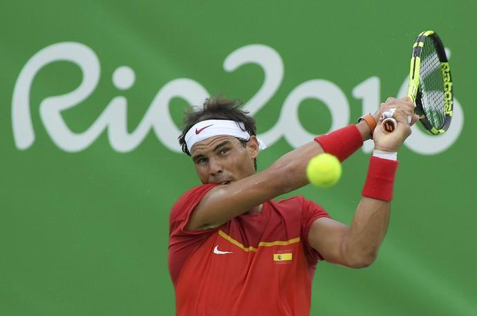 Rafael Nadal, estreia Rio 2016  (Foto: Reuters)