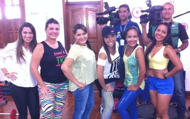 Um desfile de moda fitness será destaque na edição de sábado, 15 de fevereiro (Foto: Maria Cláudia Lima/TV Roraima)