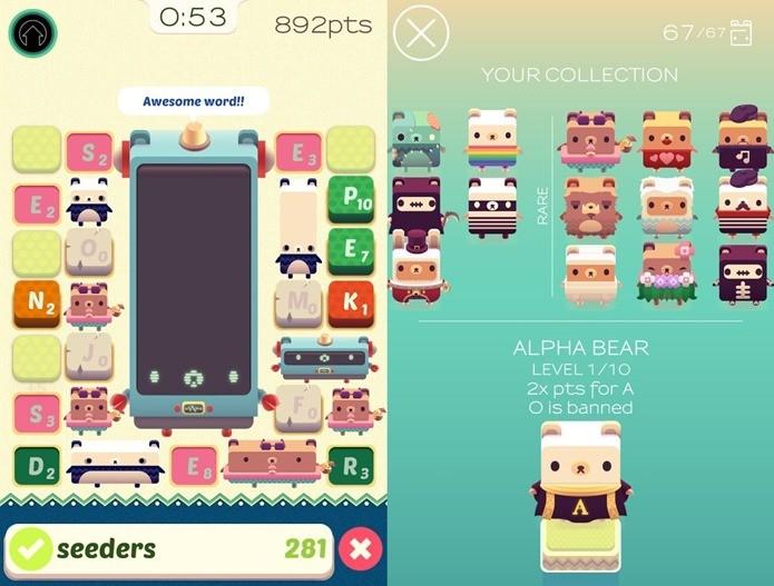 Aprenda inglês neste divertido jogo para iOS (Foto: Divulgação / Spry Fox)