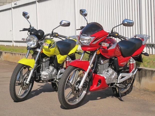 Suzuki GSR125 e GSR125 S (Foto: Rafael Miotto/G1)