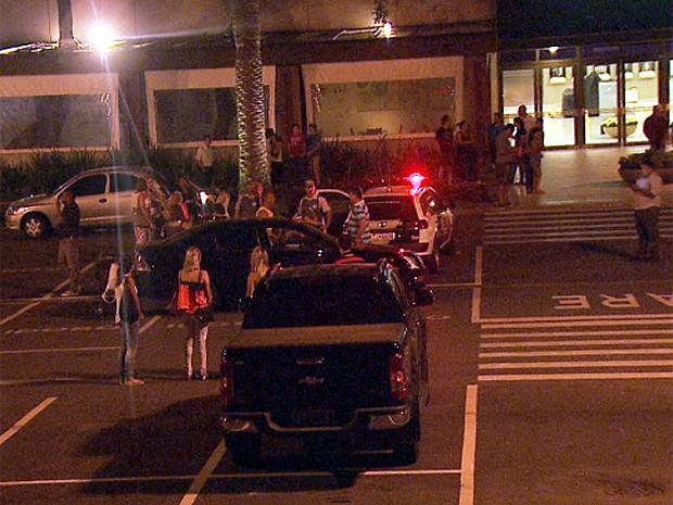 Polícia foi chamada depois que mâe anunciou o sequstro do recém-nascido. (Foto: Reprodução EPTV)