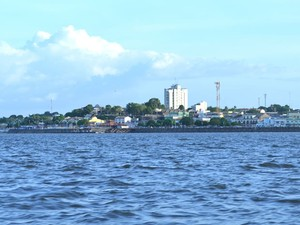 Vídeo mostra Santarém como polo regional (Foto: Karla Lima/G1)