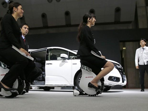 Honda UNI-CUB (Foto: AP Photo/Shuji Kajiyama)