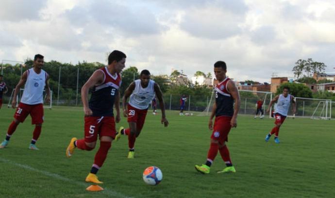 Bahia treino no Fazendão (Foto: Divulgação / EC Bahia)