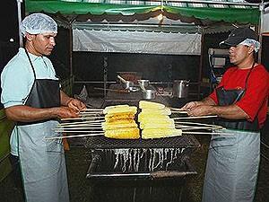 Festival Delícias do Milho em Bueno de Andrada 2011 (Foto: Divulgação)