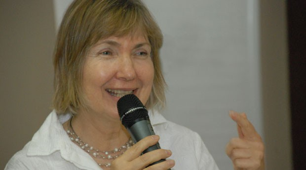 Judy Rodgers, diretora fundadora do Imagens e Vozes de Esperança (IVE),  (Foto: Divulgação)