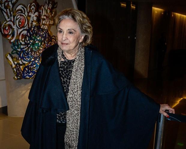 Eva Wilma, que participou da novela 'Verdades Secretas' ano passado, foi internada na última sexta-feira (25) (Foto: AG News)