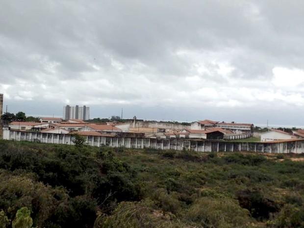 Penitenciária Estadual de Alcaçuz (Foto: Felipe Gibson/G1)