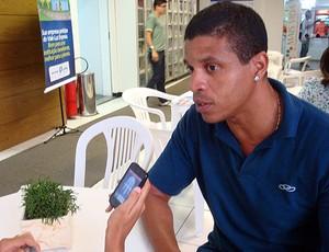 edvaldo valério (Foto: Tamires Fukutani/Globoesporte.com)