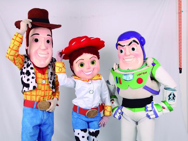Toy Story (Foto: Shopping Parangaba/G1/Divulgação)