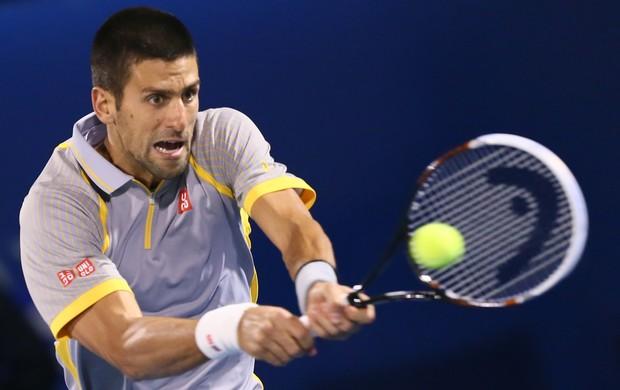 Djokovic x Roberto Bautista dubai (Foto: AFP)