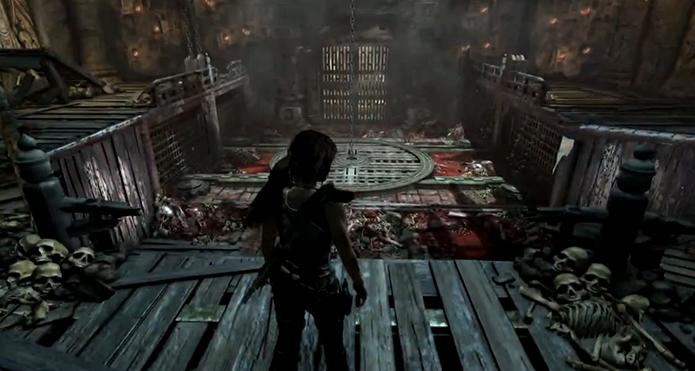 Tomb Raider: veja dicas e saiba como passar do Templo do Abismo no jogo (Foto: reprodução/Murilo Molina)