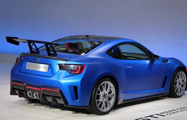 Subaru STI Performance Concept (Foto: divulgação)