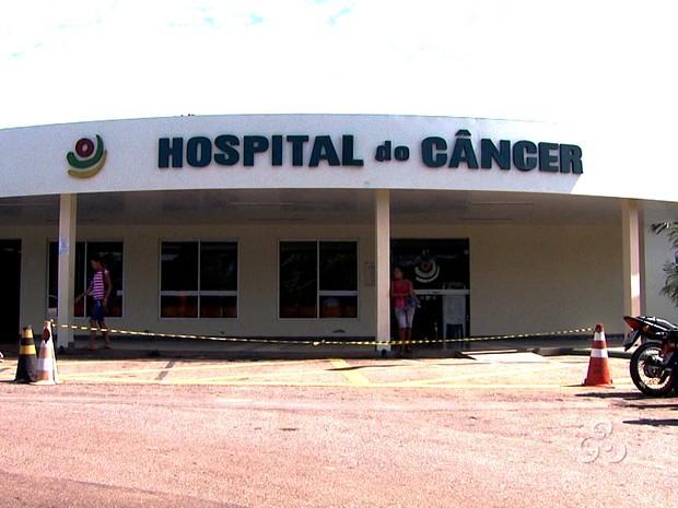 hospital do cancer acre (Foto: Reprodução / Tv Acre)