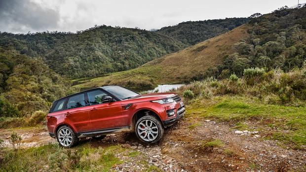 Veja galeria de fotos do Land Rover Range Rover Sport