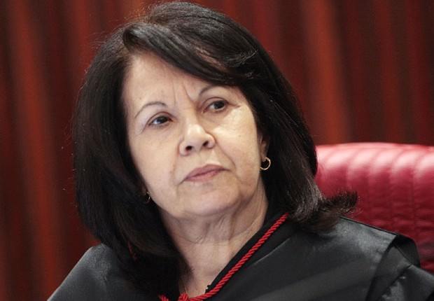 A ministra Laurita Vaz será a primeira mulher a presidir o Superior Tribunal de Justiça (STJ) (Foto: Carlos Humberto/SCO/STF)