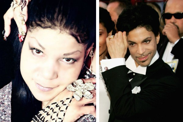 Tyka Nelson, a irmã do cantor Prince (Foto: Facebook/Getty Images)