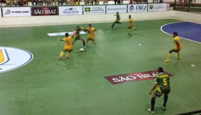 Cruz, Zonal, Copa TV Verdes Mares, Futsal, Paracuru (Foto: Eduardo Trovão/TV Verdes Mares)