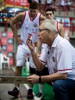 Alberto Bial, técnico do Basquete Cearense (Foto: Stephan Eilert/Divulgação)
