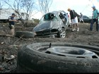 Capotagem deixa um morto e dois feridos em trecho da BR-230 na PB