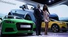 Audi apresenta TT Roadster conversível  (Caio Kenji/G1)
