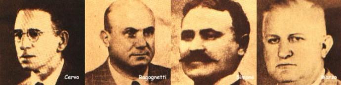 Fundadores do Palestra Itália - Palmeiras (Foto: Acervo Histórico Sociedade Esportiva Palmeiras)